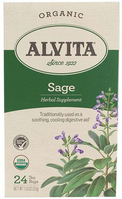 Alvita Organic Sage Tea Bags