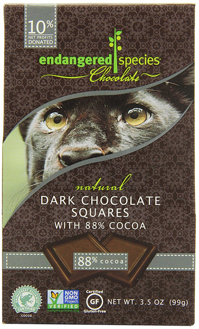 Endangered Species Extreme Dark Chocolate