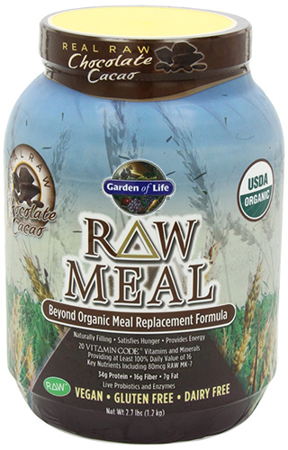 Garden of Life Nutritious Chocolate Raw Meal