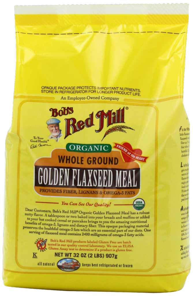 Whole Ground Golden Flaxseed Meal