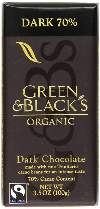Green and Black's Organic Dark Chocolate