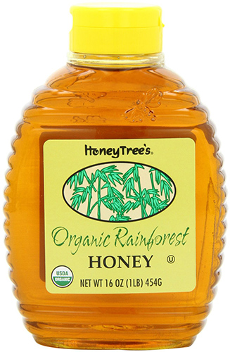 HoneyTree's Real Organic Rainforest Honey