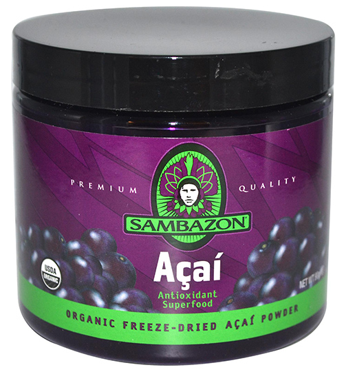 Sambazon Organic Freeze-Dried Acai Powder