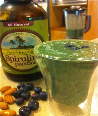 Spirulina Summer Smoothie
