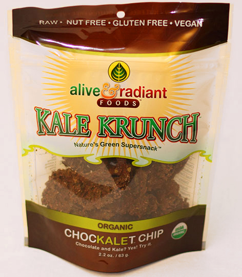 Alive and Radiant Chockalet Chip Kale Krunch