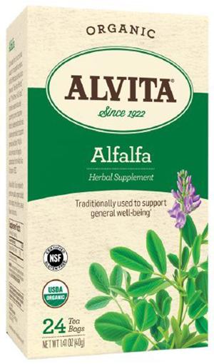 Alvita Organic Alfalfa Leaf Tea Bags