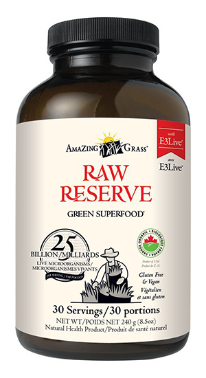 Amazing Grass Raw Reserve Green Superfood Mix