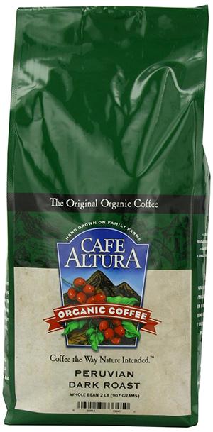 Café Altura Peruvian Dark Organic Coffee