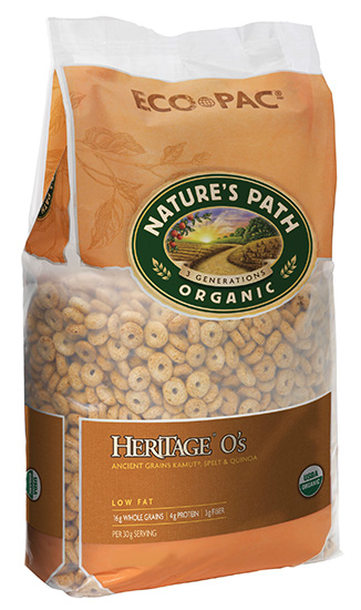 Nature's Path Organic Whole Grain Heritage Cereal