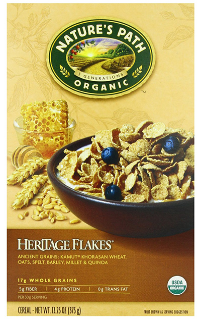 Natures Path Organic Whole Grain Heritage Flakes