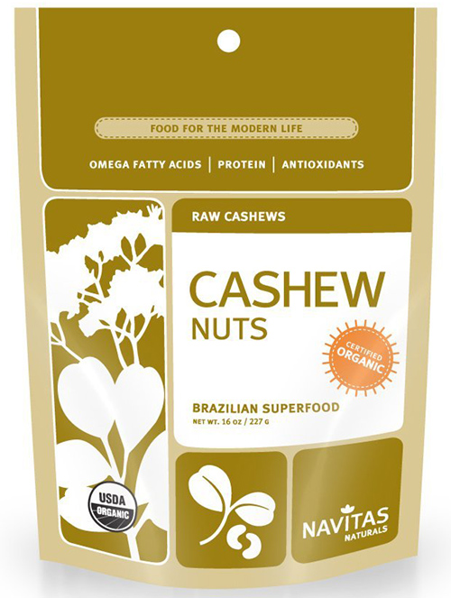 Navitas Naturals Raw Organic Cashews