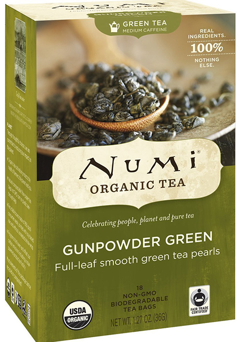 Numi Full-Leaf Gunpowder Green Tea Bags