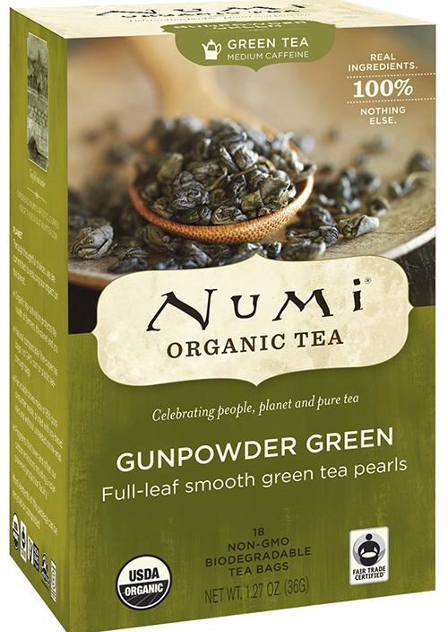 Numi Full-Leaf Gunpowder Green Tea Bags