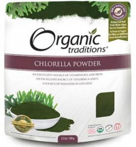 Organic Traditions Pure Chlorella Powder