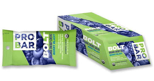 Probar Bolt Blueberry Energy Chews
