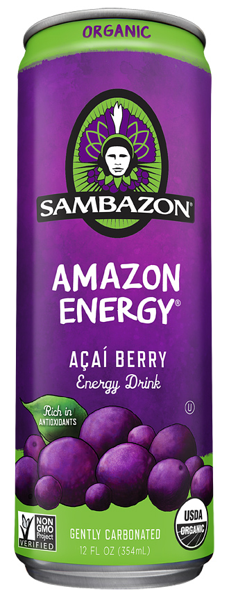 Sambazon Organic Acai Energy Drink