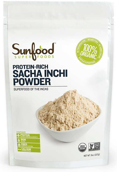 Sunfood Organic Sacha Inchi Protein Powder