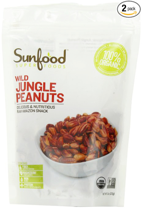 Sunfood Wild Amazonian Jungle Peanuts