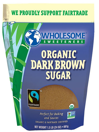 Wholesome Sweeteners Organic Dark Brown Sugar