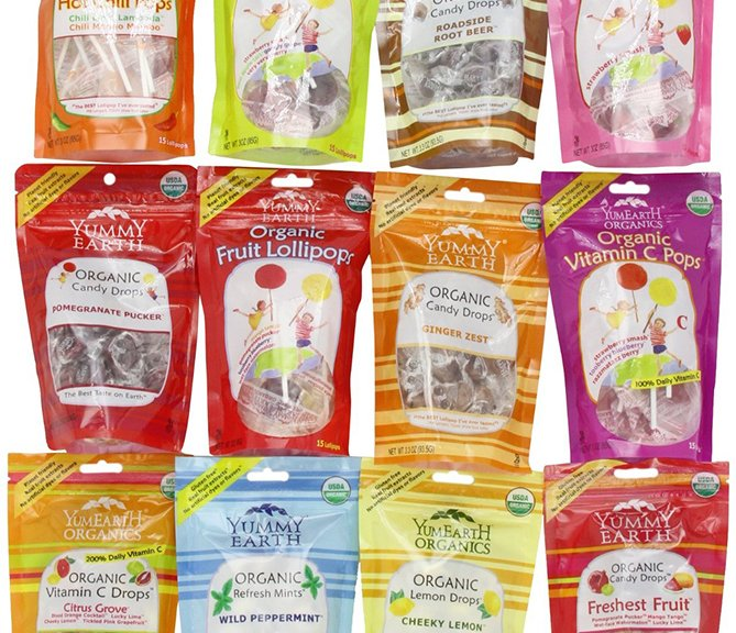 YummyEarth Organic Drops and Lollipops