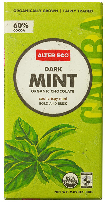 Alter Eco Organic Mint Dark Chocolate