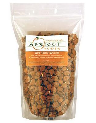 Apricot Power Organic Raw Apricot Kernels