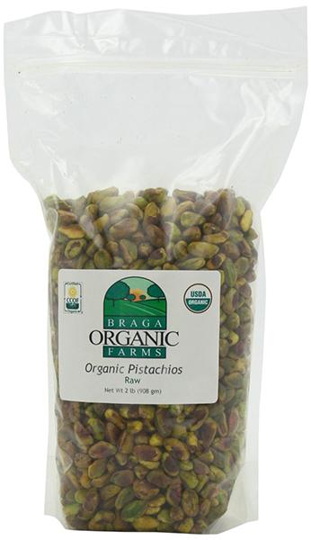 Braga Organic Farms Pistachio Kernels