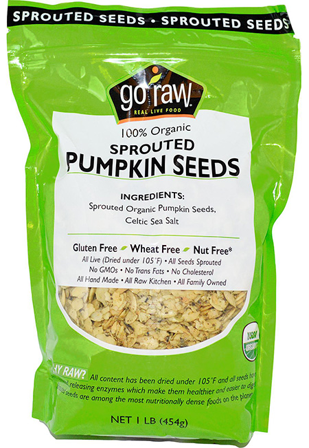 Go Raw Organic Sprouted Pumpkin Seeds