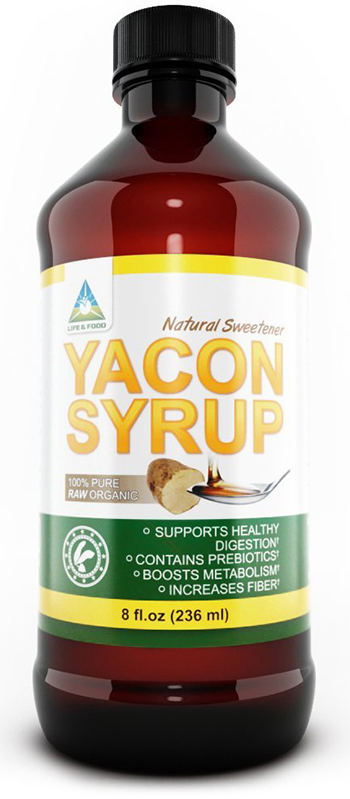 Life and Food 100% Raw Organic Yacon Syrup