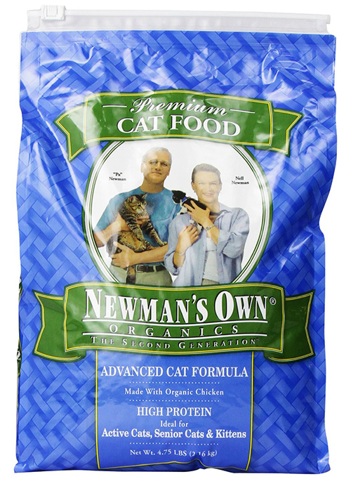 Newman's Own Organics Advanced Dry Cat Food Formula