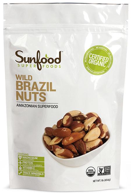 Sunfood Organic Wild Brazil Nuts