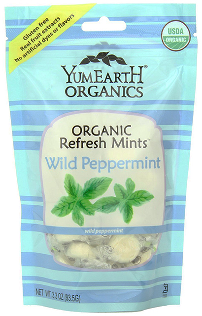 YummyEarth Organic Candy Drops with wild Peppermint