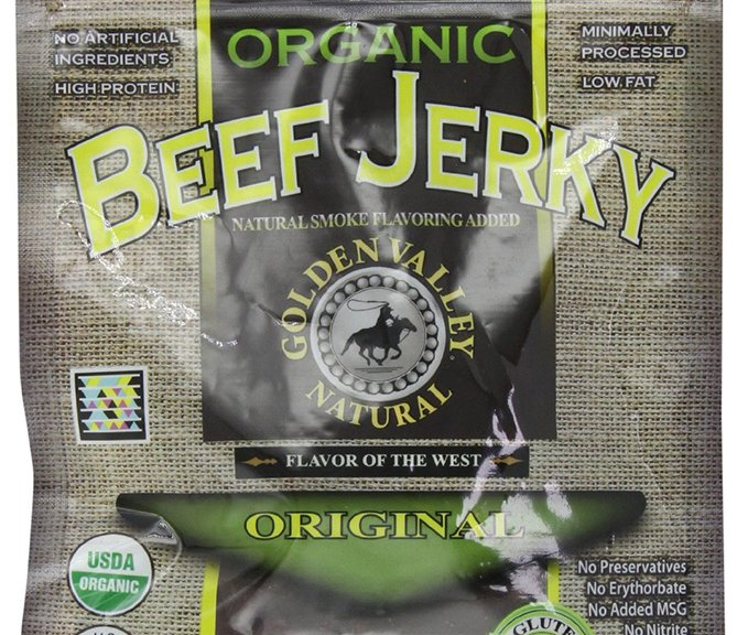 Golden Valley Natural Organic Lean Beef Jerky