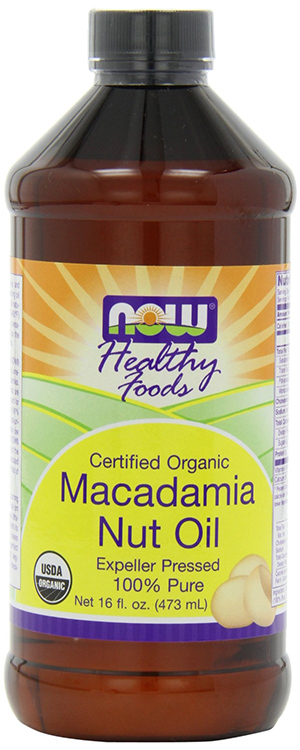Now Foods Organic Macadamia Oil