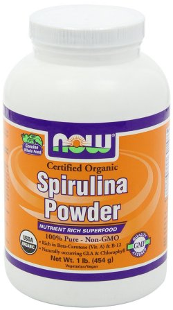 Now Foods Organic Spirulina Powder Food Supplement