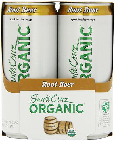 Santa Cruz Organic Sparkling Root Beer
