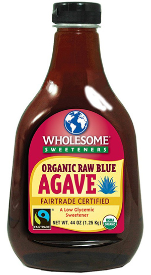 Wholesome Sweeteners Raw Organic Blue Agave Nectar