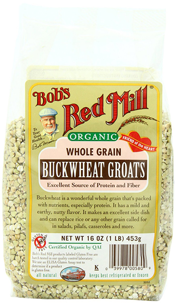 Bob's Red Mill Organic Raw Wholegrain Buckwheat Groats