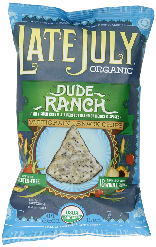 Late July Dude Ranch Flavor Multigrain Organic Tortilla Chips