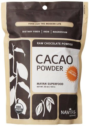 Navitas Naturals 100 Percent Certified Organic Cacao Powder