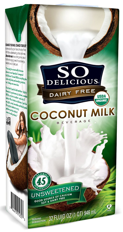 So Delicious Dairy-free Organic Coconut Milk
