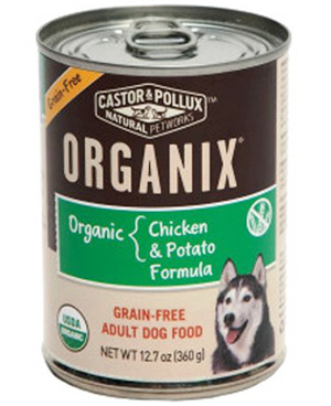 Castor and Pollux Grain-Free Organic Dog Food With Chicken And Potatoes