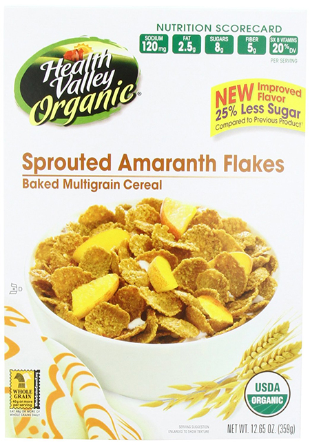Health Valley Organic Sprouted Amaranth Flakes