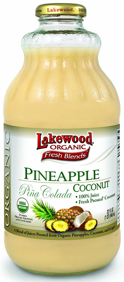 Lakewood Organic Coconut-Pineapple Juice