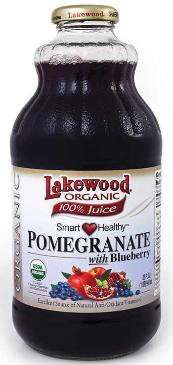 Lakewood Organic Pomegranate And Blueberry Juice
