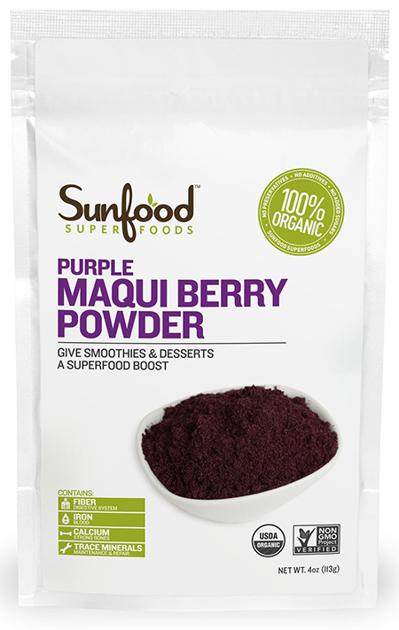 Sunfood Organic Maqui Berry Powder