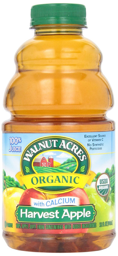 Walnut Acres Organic Apple Juice With Calcium