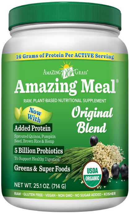 Amazing Grass Amazing Meal Original Greens and Superfoods Protein Blend
