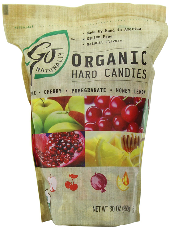GoNaturally Organic Hard Candies