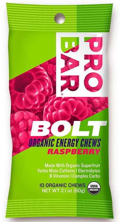 Probar Bolt Energy Chews With Raspberry